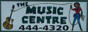 music-centre-sign-azle-Texas